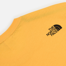 Мужская футболка The North Face L/S Fine TNF Yellow фото- 3