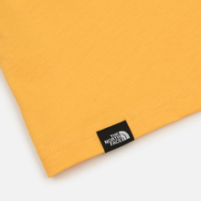 Мужская футболка The North Face L/S Fine TNF Yellow фото- 4