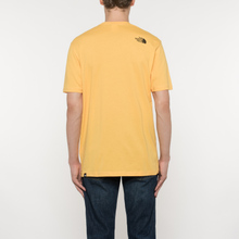 Мужская футболка The North Face L/S Fine TNF Yellow фото- 6