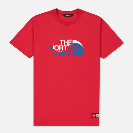 Мужская футболка The North Face IC SS Cotton Crew TNF Red