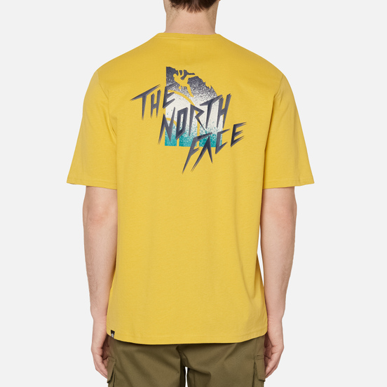 Мужская футболка The North Face Mos Bamboo Yellow