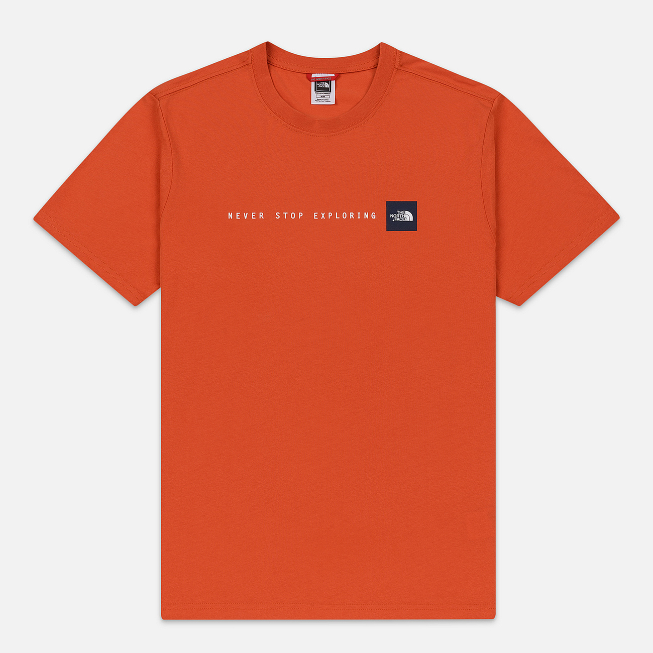 Мужская футболка The North Face Never Stop Exploring Papaya Orange