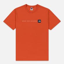 Мужская футболка The North Face Never Stop Exploring Papaya Orange фото- 0