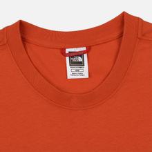 Мужская футболка The North Face Never Stop Exploring Papaya Orange фото- 1