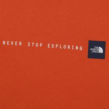 Мужская футболка The North Face Never Stop Exploring Papaya Orange фото- 2