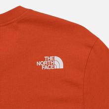 Мужская футболка The North Face Never Stop Exploring Papaya Orange фото- 3