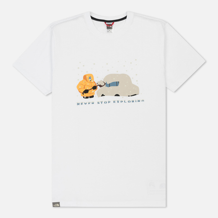 Мужская футболка The North Face S/S Never Stop Exploring Series TNF White