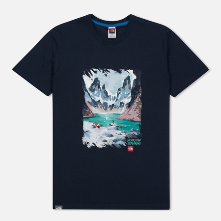 Мужская футболка The North Face Never Stop Exploring Series Urban Navy