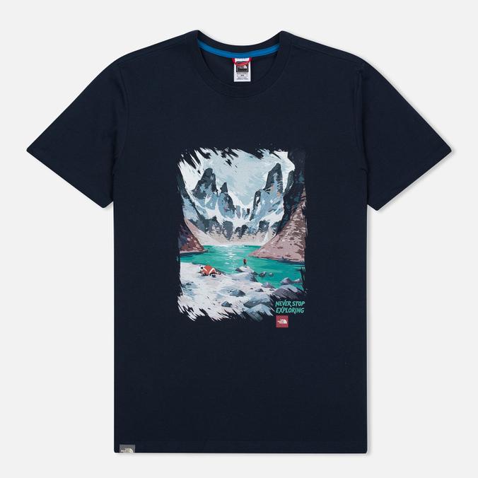 Мужская футболка The North Face Never Stop Exploring Series Urban Navy