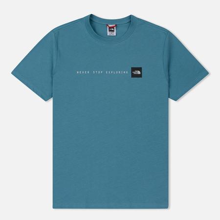 Мужская футболка The North Face Never Stop Exploring Storm Blue