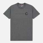 Мужская футболка The North Face Never Stop Exploring TNF Medium Grey Heather фото- 0