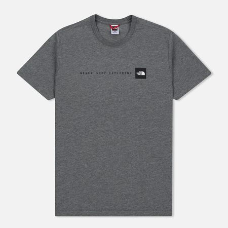 The North Face Never Stop Exploring TNF Medium Men's T-Shirt Grey Heather