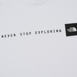 Мужская футболка The North Face Never Stop Exploring TNF White/Black фото- 2
