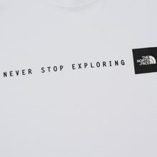 Мужская футболка The North Face Never Stop Exploring TNF White/Black фото- 2