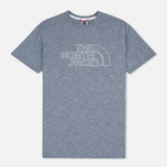 Мужская футболка The North Face Novelty Logo Moonlight Blue/Vaporous Grey фото- 0
