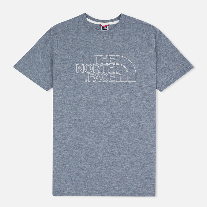 Мужская футболка The North Face Novelty Logo Moonlight Blue/Vaporous Grey