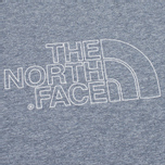 Мужская футболка The North Face Novelty Logo Moonlight Blue/Vaporous Grey фото- 2