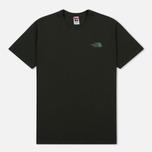 Мужская футболка The North Face Red Box Rosin Green фото- 0