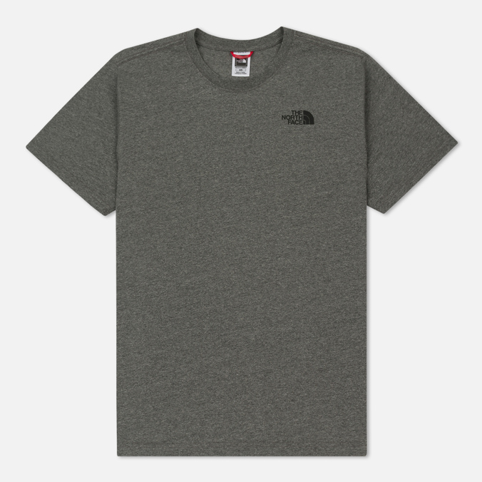Мужская футболка The North Face Red Box TNF Medium Grey Heather
