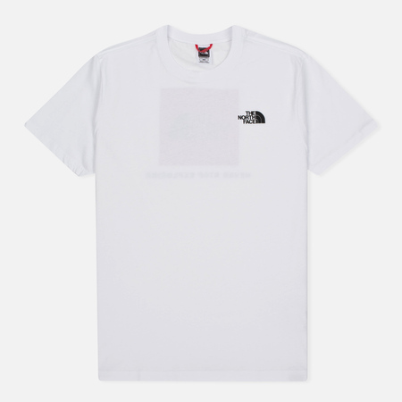 The North Face Red Box TNF Men's T-Shirt White