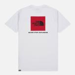 Мужская футболка The North Face Red Box TNF White фото- 4