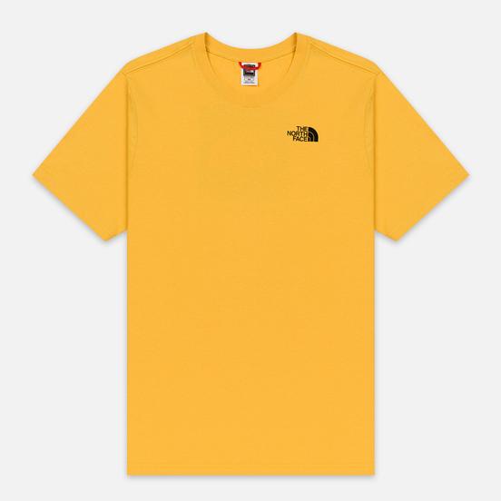 Мужская футболка The North Face Red Box TNF Yellow/TNF Black