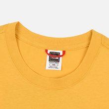 Мужская футболка The North Face Red Box TNF Yellow/TNF Black фото- 1