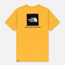 Мужская футболка The North Face Red Box TNF Yellow/TNF Black фото- 4