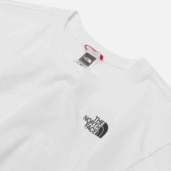 Мужская футболка The North Face Redbox Celebration TNF White/Urban Navy