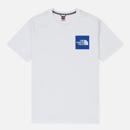 Мужская футболка The North Face Fine SS TNF White/Turki