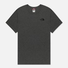Мужская футболка The North Face Simple Dome Medium Grey фото- 0