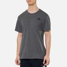 Мужская футболка The North Face Simple Dome Medium Grey фото- 2