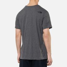 Мужская футболка The North Face Simple Dome Medium Grey фото- 3