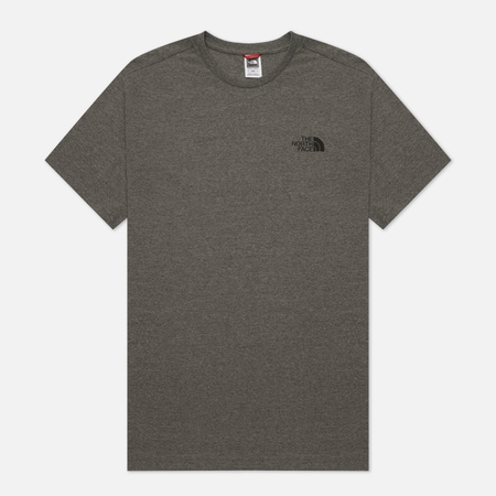 Мужская футболка The North Face Simple Dome Medium Grey