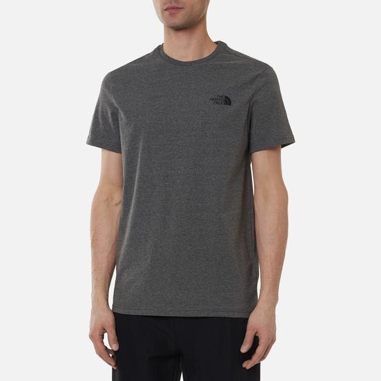 Мужская футболка The North Face Simple Dome Medium Grey