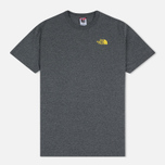 Мужская футболка The North Face Simple Dome Medium Grey Heather фото- 0
