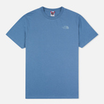 The North Face Simple Dome Moonlight Men's T-shirt Blue photo- 0
