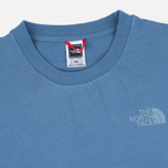 The North Face Simple Dome Moonlight Men's T-shirt Blue photo- 1