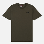 Мужская футболка The North Face Simple Dome New Taupe Green/TNF Black фото- 0