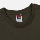 Мужская футболка The North Face Simple Dome New Taupe Green/TNF Black фото- 1