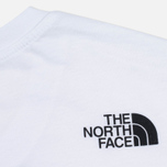 The North Face Simple Dome Men's T-shirt White photo- 3