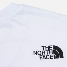 Мужская футболка The North Face Simple Dome White фото- 3