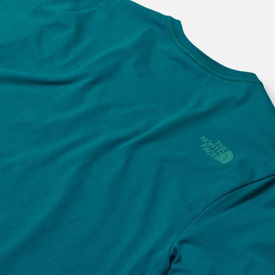 Мужская футболка The North Face SS Easy Fanfare Green