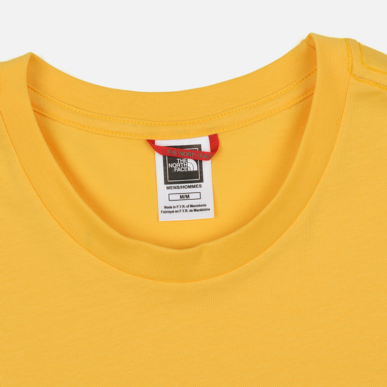 Мужская футболка The North Face SS Easy TNF Yellow/TNF Black