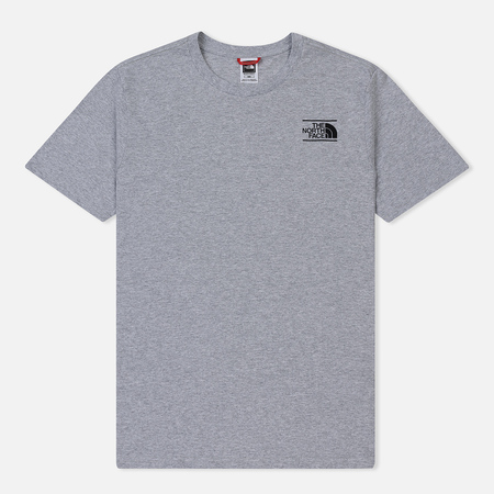 Мужская футболка The North Face SS Graphic TNF Light Grey Heather