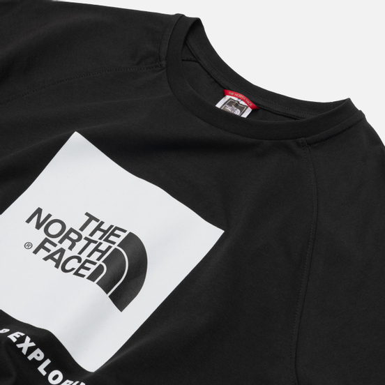 Мужская футболка The North Face SS Rag Red Box TNF Black/TNF White