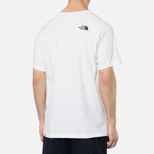 Мужская футболка The North Face SS Rag Red Box TNF White фото- 3
