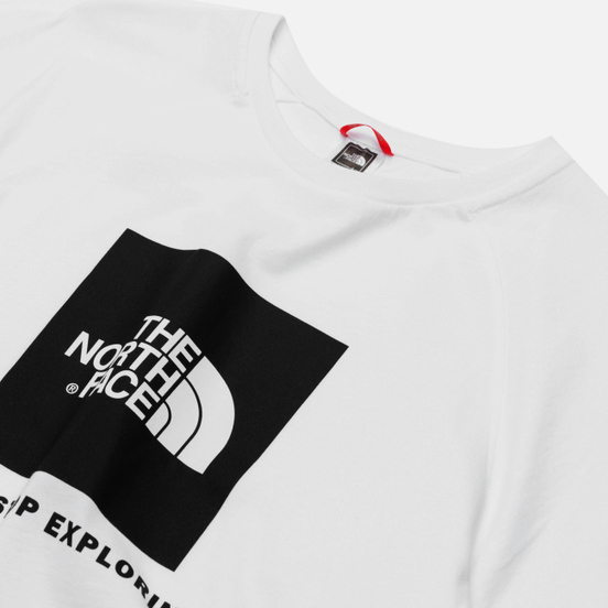 Мужская футболка The North Face SS Rag Red Box TNF White