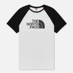 Мужская футболка The North Face SS Raglan Easy TNF White/TNF Black фото- 5
