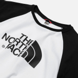 Мужская футболка The North Face SS Raglan Easy TNF White/TNF Black фото- 6